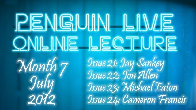 Image Penguin Live Lecture 2012 – Month 4